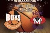 Montescaglioso, Basketball Wheelchair Sabato 2 febbraio ore 18