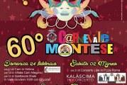 Il programma ufficiale della 60esima edizione Carnevale Montese2019