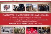 """A Matera la sfilata di """"Carnevali e maschere della Lucania a valenza antropologica e culturale"""""""