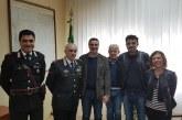 Montescaglioso, Generale di Brigata Rosario CASTELLO ha fatto visita alla nostra Città.
