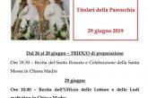 Solennità dei Santi Apostoli Pietro e Paolo