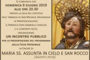 Montescaglioso, presentazione programma Festa Patronale