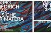 Sabato 21 settembre a Matera* World première – Georg Friedrich HAAS – *MUSICHE PER MATERA*