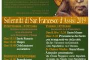 Solennità di San Francesco D' Assisi 2019