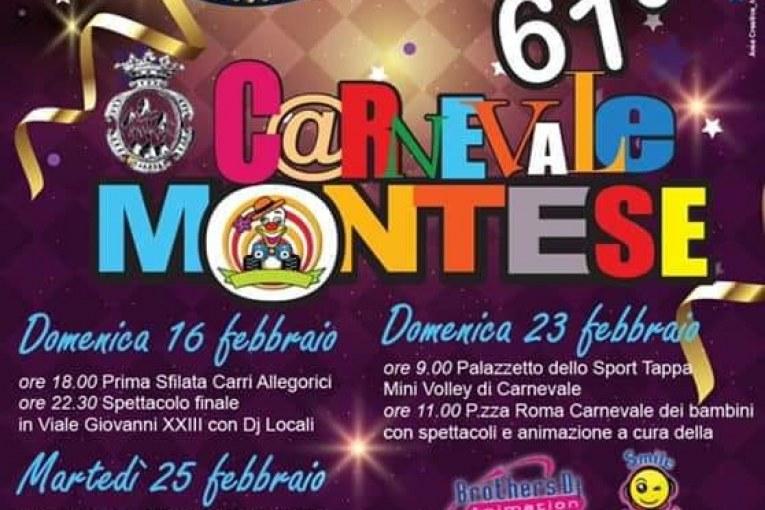 #Carnevalemontese2020