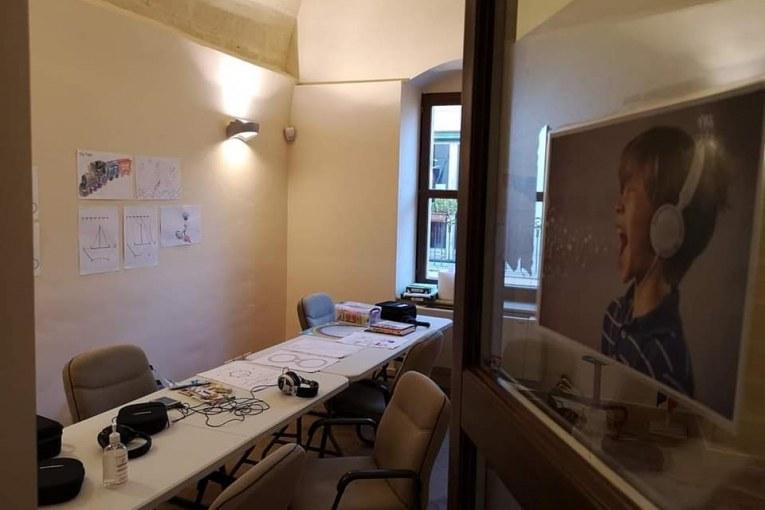 Montescaglioso, progetto Listering Room