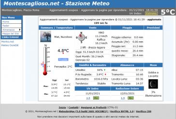 Montescaglioso, Installata stazione meteo professionale.