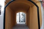 Montescaglioso, apertura arco santo stefano, detto LA JAMM