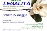 Giornata della legalità, sabato 22 Maggio