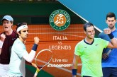 Gli italiani del Roland Garros
